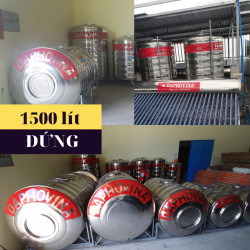 Bồn nước inox 1500 lít đứng Daphovina chất lượng  bán tại Nha trang, Diên khánh , Ninh hòa, Cam ranh, Khánh hòa