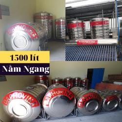 Bồn nước inox 1500 lít ngang Daphovina chất lượng bán tại Nha trang , Diên khánh , Ninh hòa, Cam ranh, Khánh hòa