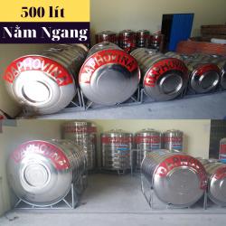 Bồn nước inox 500 lít ngang Daphovina chất lượng bán tại Nha trang , Diên khánh , Ninh hòa, Cam ranh, Khánh hòa