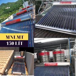 Máy nước nóng năng lượng mặt trời 150 lít Daphovina chất lượng bảo hành  ở nha trang, diên khánh, cam ranh, ninh hòa, khánh hòa