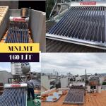 Máy nước nóng năng lượng mặt trời 160 lít Daphovina chất lượng bảo hành  ở nha trang, diên khánh, cam ranh, ninh hòa, khánh hòa