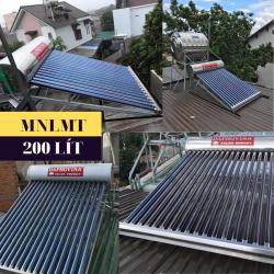 Máy nước nóng năng lượng mặt trời 200 lít Daphovina chất lượng bảo hành  ở nha trang, diên khánh, cam ranh, ninh hòa, khánh hòa
