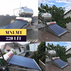 Máy nước nóng năng lượng mặt trời 220 lít Daphovina chất lượng bảo hành ở nha trang, diên khánh, cam ranh, ninh hòa, khánh hòa