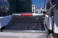 Máy nước nóng năng lượng mặt trời 300 lít cao cấp giá rẻ  ở nha trang, khánh hòa