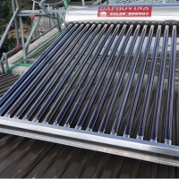 Máy nước nóng năng lượng mặt trời 200 lít cao cấp giá rẻ  ở nha trang, khánh hòa