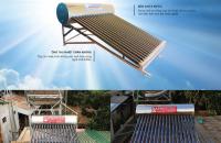 Máy nước nóng năng lượng mặt trời 180 lít cao cấp giá rẻ  ở nha trang, khánh hòa