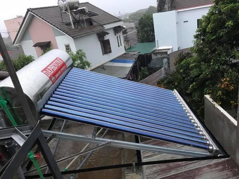 Máy nước nóng năng lượng mặt trời 150 lít cao cấp giá rẻ  ở nha trang, khánh hòa