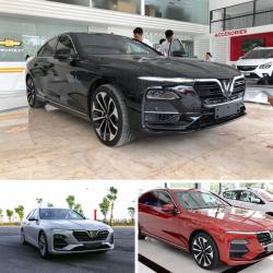 Showroom trưng bày xe  Vinfast Lux A2.0 Plus ở nha trang