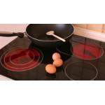 Mâm nhiệt bếp hồng ngoại 23cm 2500W 2 vòng nhiệt (có 3 chân cắm ) phụ kiện thay