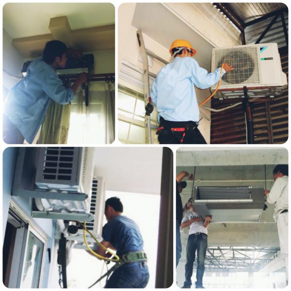 Nơi sửa máy lạnh máy điều hòa uy tín tại nhà ở Nha trang Khánh hòa