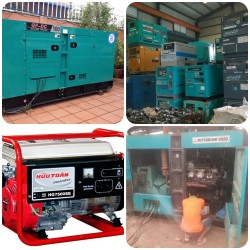 Sửa chữa, lắp đặt máy phát điện công suất từ 30kVA đến 2500kVA ở Nha trang Khánh hòa