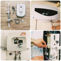 Sửa máy tắm nước nóng tại nhà ở Nha Trang