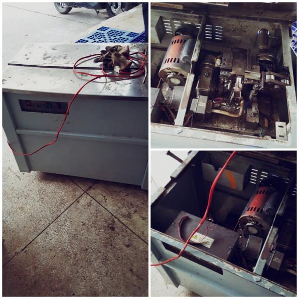 Sửa máy đóng đai thùng, máy đai dây ở Nha trang