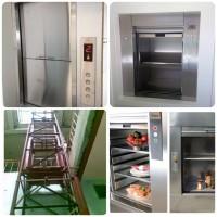 Lắp thang máy tải thực phẩm 100kg 2 tầng ở Nha trang khánh hòa