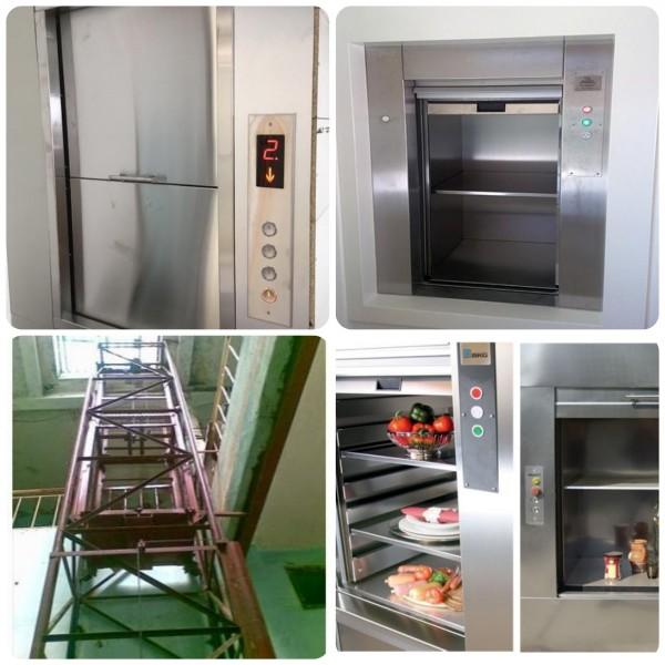 Lắp đặt thang máy vận chuyển hàng, vận chuyển thức ăn ở Nha trang