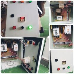 Lắp tủ điện điều khiển nhiệt độ tủ hấp bánh ở tại Nha trang Khánh hòa