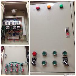 Lắp đặt tủ điện máy cắt đá ở Nha trang Khánh hòa