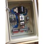 Lắp đặt tủ bơm 3 pha có báo pha, bảo vệ chống cạn lắp với máy phát điện ở Nha trang