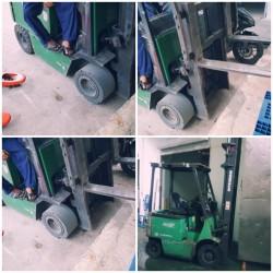Sửa chữa các loại xe nâng hàng Komatsu, Toyota, Misubishi, Nissan, TCM ở Nha trang