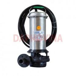 Bơm điện giếng đào thả chìm áp cao thiết kế họng xả ngang dải công suất 15HP - 380V