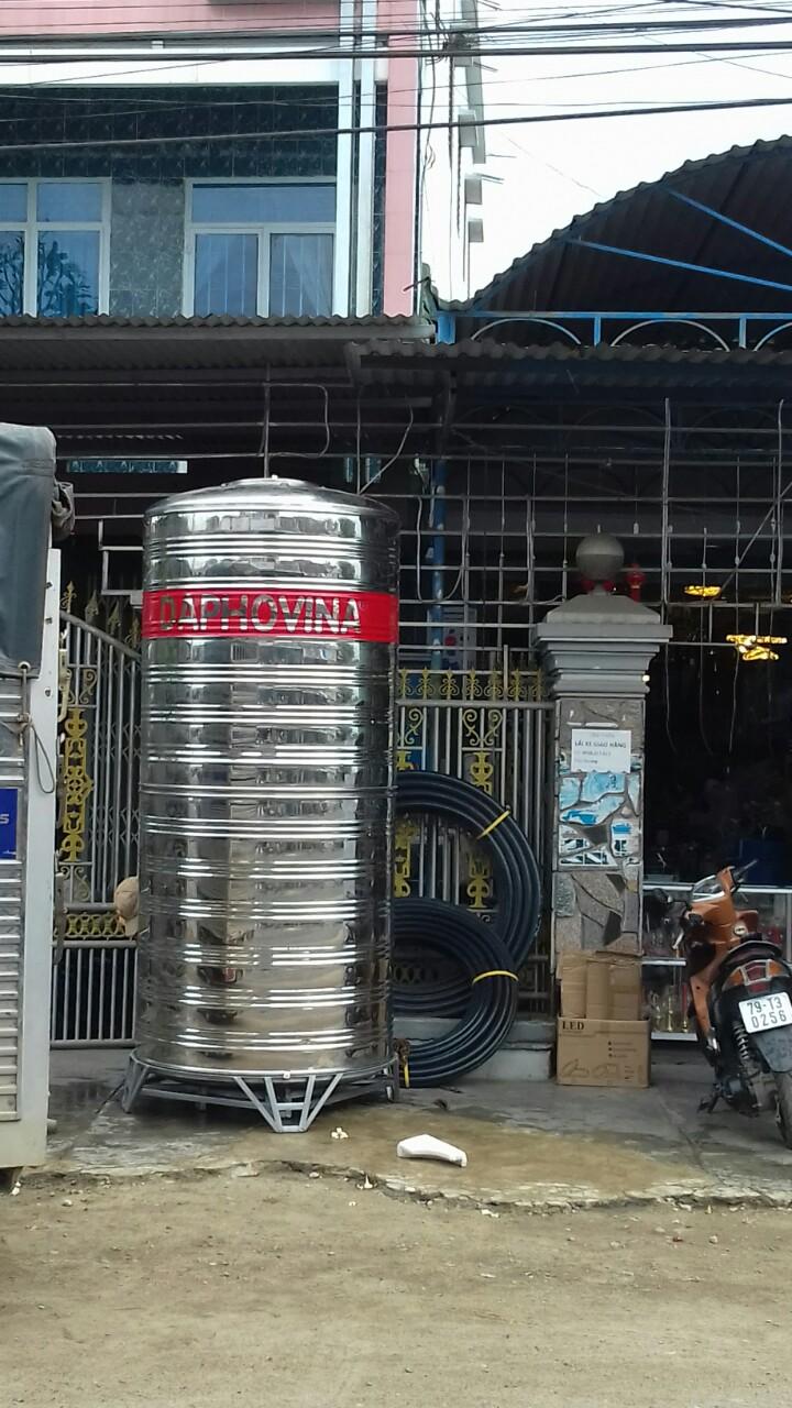 bán bồn nước inox 304 ở nha trang, diên khánh, ninh hòa, khánh hòa